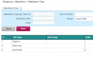 guide attendance type