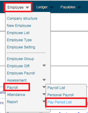 Payroll - Monthly Report