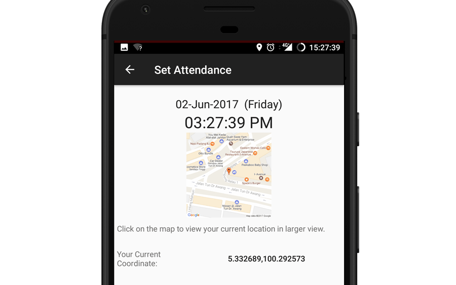 Display Current Date, Time and Location
