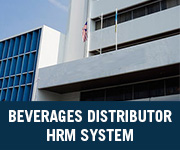 beverages distributor hrm system