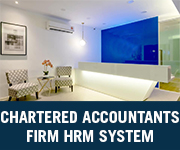 chartered accountants firm hrm system