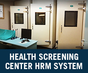 health screening center hrm system