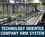 technology oriented company hrm system