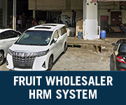 fruit wholesaler hrm system