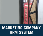 Marketing Company hrm system
