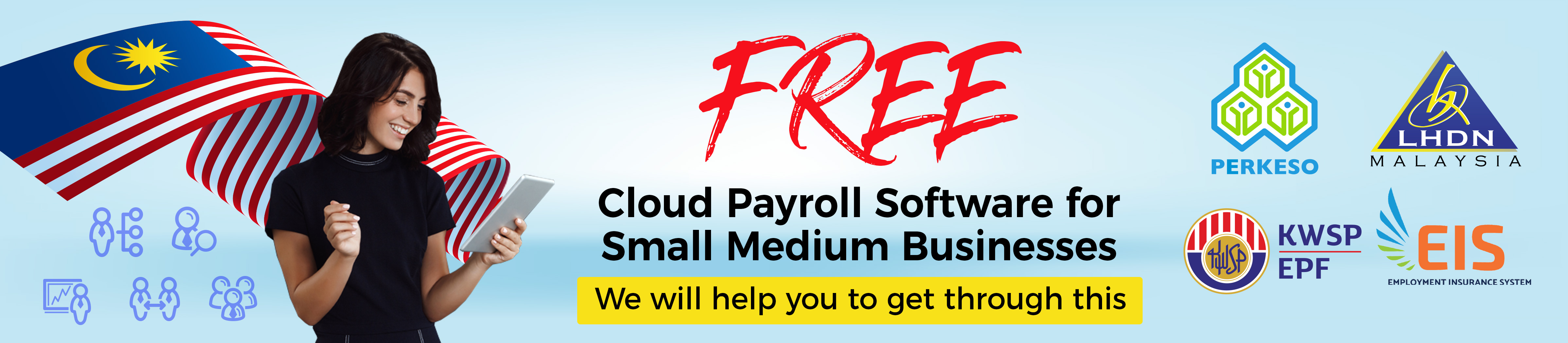 e-leave hrm system free payroll